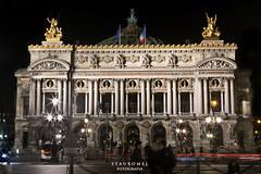 Opera Garnier (Stauromel) Tags: street paris skyline arquitectura opera nocturna parigi operagarnier operadeparis charlesgarnier canon1dmarkii neobarroco stauromel alquimiadigital