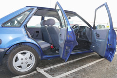 Ford Escort (Lazenby43) Tags: ford eclipse 1990 escort carinterior mk4