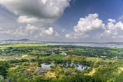 Chengelpet #2 (Mahendiran Manickam) Tags: morning india lake clouds landscape hills mount overlooking chennai topview tamilnadu chengelpet kolavai mahemanickphotography