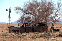 Abandoned house with windmill at Horse Springs, NM 4288x2848 (Charlotte Clarke Geier) Tags: wallpapers screensavers