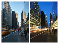 nyc newyorkcity blue sky urban newyork architecture manhattan taxi bluehour chrysler chryslerbuilding goldenhour nuevayork urbain ニューヨーク 紐約 紐約市 曼哈頓 マンハッタン ニューヨーク市 ciudaddenuevayork