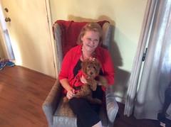 Sadie's favorite place to sit!