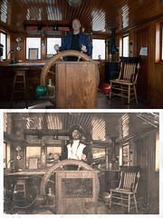 Cap'n Bill and Original (billmclaugh) Tags: photoshop doctor photochop pirate argh edit arghhh arghh thevermilionmaritimemuseum