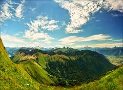 Love between heaven and earth (Katarina 2353) Tags: mountain alps film nature landscape switzerland spring nikon swiss montreux rochersdenaye katarinastefanovic katarina2353