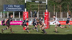 Pontypridd v Cross Keys #23 (PontyCyclops) Tags: road house club keys back football pain cross rugby centre union row full number half second hooker eight prop scrum maul pontypridd premiership winger rfc principality sardis ruck flanker