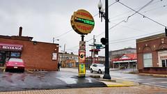 Dreary Sunday Morning Along Penn Avenue, Wilkinsburg, January 10, 2016