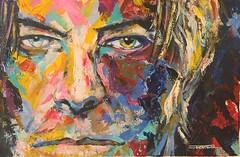 DAVID BOWIE -himself- (FERRAN-ART) Tags: paisajes mar sketch bowie arte gente lagos retratos ros dibujo pintura montaas acuarelas exposiciones acrlicos leos