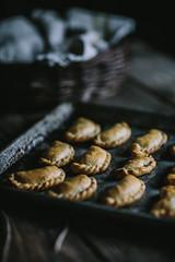 Root Vegetable & Feta Empanadas by Eva Kosmas Flores | Adventures in Cooking (Eva Kosmas Flores) Tags: winter cheese recipe stuffed sweet vegetable yam potato homemade pastry beets onion appetizer easy root feta empanada