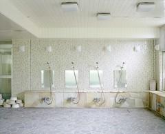 abandoned hotel (Egg Cheung) Tags: abandoned 120 film japan bathroom shower japanese hotel mirror decay tub medium 6x7 urbex hachijojima haikyo fujicolorpro400h fujifilmgf670professional wwwfacebookcomurbanfragment
