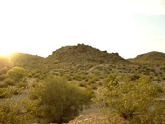South Mountain Super Resolution (isaacullah) Tags: light sunset sun mountain phoenix landscape golden evening warm afternoon desert south super hour flare resolution rays sonoran