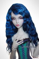 Lapis lazuli (Kimirra) Tags: doll wig bjd commission abjd lillycat colorfulwig colorfulhair surialpaca bjdwig dollwig cerisedolls alpacawig angorawig kagamidesign lillycatellana