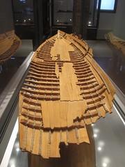 COMACCHIO - Museo della Nave Romana (Roman Shipwreck Museum): Replica of the hull (Andra MB) Tags: italien italy vacances italia roman urlaub shipwreck italie emiliaromagna 2015 vacanta concediu epave epava commachio
