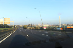 Autoroute A86 - Crteil (France) (Meteorry) Tags: road morning france highway europe ledefrance traffic motorway crteil roadtrip route autopista freeway april autoroute circulation idf matin autostrada a86 valdemarne 2016 meteorry superpriphrique