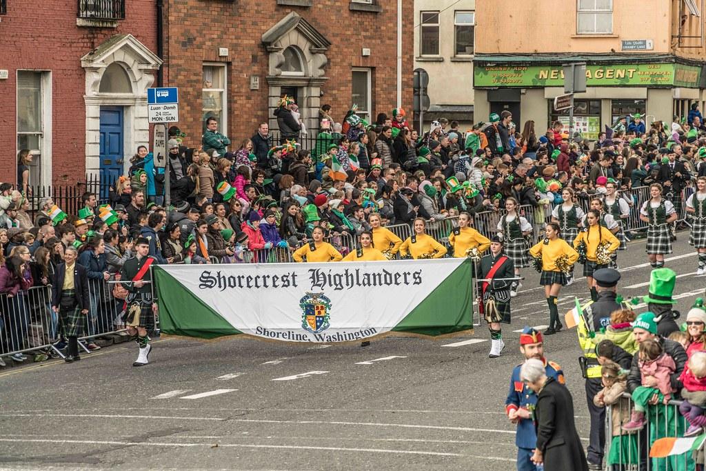 SHORECREST HIGH SCHOOL [ST. PATRICK'S PARADE IN DUBLIN 2016]-112250