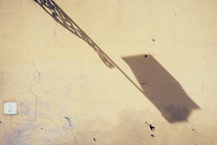 shadow lamp nr. 2 (thedecentexposure) Tags: travel italien light shadow italy rome color roma travelling lamp wall reisen europa europe schatten rom itlay