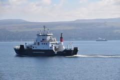 MV Coruisk on the Gourock - Rothesay Run (Russardo) Tags: ferry scotland clyde mac run cal calmac gourock mv caledonian rothesay macbrayne coruisk