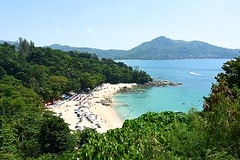 Life is a beach, in Thailand (Tungmay Pimjoy) Tags: sea beach thailand phuket