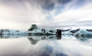 Ice in Jökulsárlón