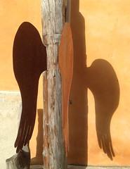 Tamins (micky the pixel) Tags: shadow art schweiz switzerland suisse kunst wing urbanart schatten flgel graubnden grischuna tamins hausfassade corasart