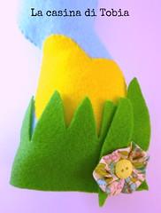 coniglietti pasquali in feltro decorati con yo yos di stoffa handmade by La Casina di Tobia (La Casina di Tobia) Tags: by la handmade yo e di feltro con casina tobia yos stoffa pasquali bottoni fiorellini coniglietti decorati