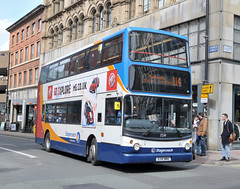 X241NNO 17241 Stagecoach Manchester (martin 65) Tags: road bus public buses vintage manchester transport group lancashire vehicle greater e300 e200 stagecoach trident megabus lancs