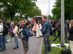DSCN0843 (kbj102) Tags: germany protest police summit warming rostock global g8 anticapitalism anticapitalist heiligendamm