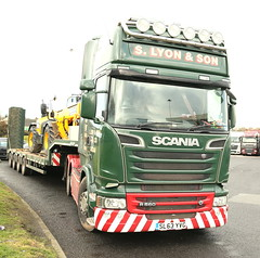 Scania560 6x2 S Lyon & Son Heavy Haulage Lincoln SL03YVG Frank Hilton IMG_8941 (Frank Hilton.) Tags: classiccommercials classictrucks classiclorry vintangecommercials vintagetrucksclassicbike classiccar foden albion atkinson erf bedford ford classicmotorcycle scania mercedes daf stgocat leyland buses kirkbysteven classiccommercialvehicles truckls lorries vans lorry