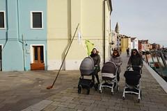 .. (lux fecit) Tags: 3 venezia burano strollers