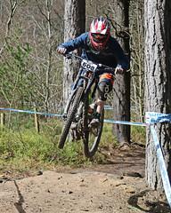 02 MTB SCDH 16 Apr 2016 (30) (Kate Mate 111) Tags: uk mountain bike forest cycling crash sheffield yorkshire steve competition racing downhill peat riding mtb mountainbiking grenoside