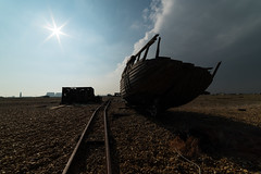 DAN_4782 (dan_c_west) Tags: holiday beach coast boat spring nikon angle wide pebble d750 dungeness