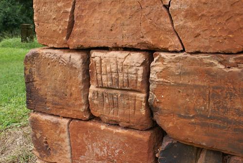 Stone markings