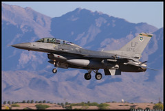 88-0175_310th FS (Scramble4_Imaging) Tags: airplane fighter aircraft aviation military jet f16 weapon viper usaf aerospace usairforce lockheedmartin unitedstatesairforce generaldynamics aetc fightingfalcon f16d 56fw 56thfighterwing