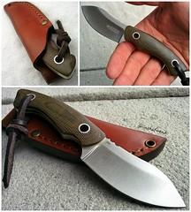 Boker Nessmi fixed blade Vox Design (edcbyfrank) Tags: knife edc vox everydaycarry boker fixedblade micarta nessmuk voxnaes nessmi bokernessmi