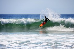 Spray!! (Wildlife_Biologist) Tags: ocean sea water sport person surf surfer wave surfing malibu human surfboard southerncalifornia swell humanbeing breakingwave homosapiens catchawave wildlifebiologist jeffahrens