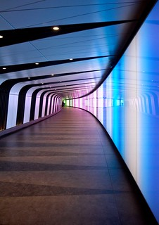 Colourful corridor