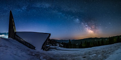 Feldberg Church & Milky Way - Schwartzwald, Germany (simon.web92) Tags: snow mountains church night germany way stars deutschland neige milky nuit allemagne fort voie noire lacte schwartwald