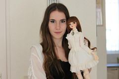 Sophia & me ( Queen-of-Endrion ) Tags: twins woods doll dolls blossom explore bjd peaks custom brunettes collecting balljointed flickrexplore balljointeddolls dollcollector peakswoods dollowner rogita