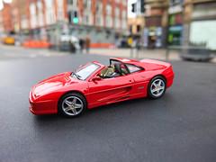 Ferrari F355 GTS   Goldeneye   James Bond 007 (rubel roy's photography) Tags: toy james ferrari bond toycar 007 gts goldeneye   f355 diecast