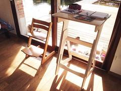 Family?  #tripptrapp #stokke #design #workplace... (jaswigstandup) Tags: sun design office chair desk potd startup workplace network cnc plywood flexible tripptrapp stokke uploaded:by=flickstagram instagram:photo=11951438078197391881744266691