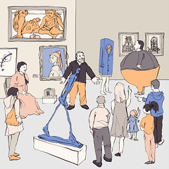At the Museum (Philipp Zurmoehle) Tags: people sculpture art museum illustration artwork artist gallery artgallery paintings illustrations drawings artists drawn francisbacon matisse figures sculptures vangogh jeffkoons artworks josephbeuys gauguin giacometti sigmarpolke egonschiele alexandercalder baselitz erwinwurm marinaabramovic tonycragg aiweiwei berndandhillabecher selfiestick