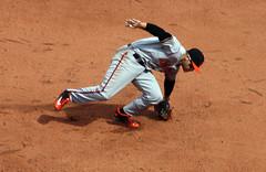 Chris Davis fields a grounder at first (ConfessionalPoet) Tags: baseball redsox baltimoreorioles 1b firstbase firstbaseman chrisdavis openingday2016