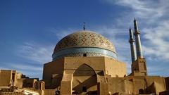 Masjed-e Jameh (Barbara CcCcCc) Tags: iran minaret mosque cupola moschea yazd minareto moscheadelvenerd masjedejameh