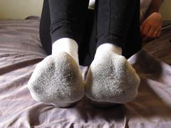 White Peds Socks (sockstargirl) Tags: feet socks footfetish sexyfeet femalefeet sexysocks sockfetish