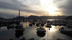 Lerici - Golfo dei poeti (Luca Kr) Tags: sunset italy sun italia tramonto mare liguria cinqueterre sole lerici