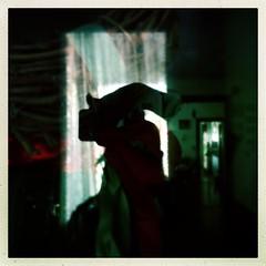 Chris in the window interior (karenchristine552) Tags: cameraphone portrait usa selfportrait philadelphia spring interiors westphiladelphia pennsylvania pa philly westphilly universitycity iphone selfie cedarpark mobilephotography karenchristinehibbard hipstamatic christinehibbard karenchristine552 chrishibbard christyhibbard kchristinehibbard
