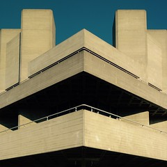 National Theatre (Andrew Eberlin) Tags: london sony southbank brutalism brutalist nationaltheatre brutalistarchitecture rx100