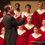 """<b>Collegiate Tour Homecoming Concert</b><br/> Collegiate Chorale's homecoming tour concert on April 19, 2016. Photo by Breanne Pierce '16<a href=""""http://farm2.static.flickr.com/1442/26543378425_f6afe9f5f6_o.jpg"""" title=""""High res"""">∝</a>"""