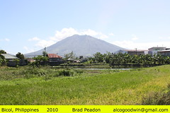 Philippines - Mt Iriga (alcogoodwin) Tags: volcano scenery philippines mayon bicol ricefields legaspi