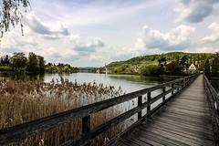 Have a break during your work (Gerd Kozik) Tags: sun nature water river lunch switzerland spring break sleep swiss silence siesta rhine takeabreak werd yarinasanth gerdkozik