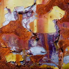 Abstract (StephenReed) Tags: abstract art metal square rust paint abstractart chippedpaint stephenreed nikond3300
